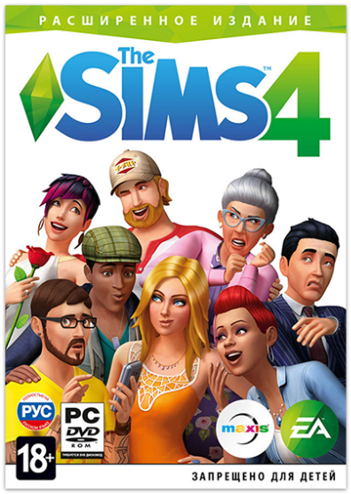 The Sims 4: Deluxe Edition  [v 1.66.139.1020 + DLC] (2014) PC | RePack от xatab